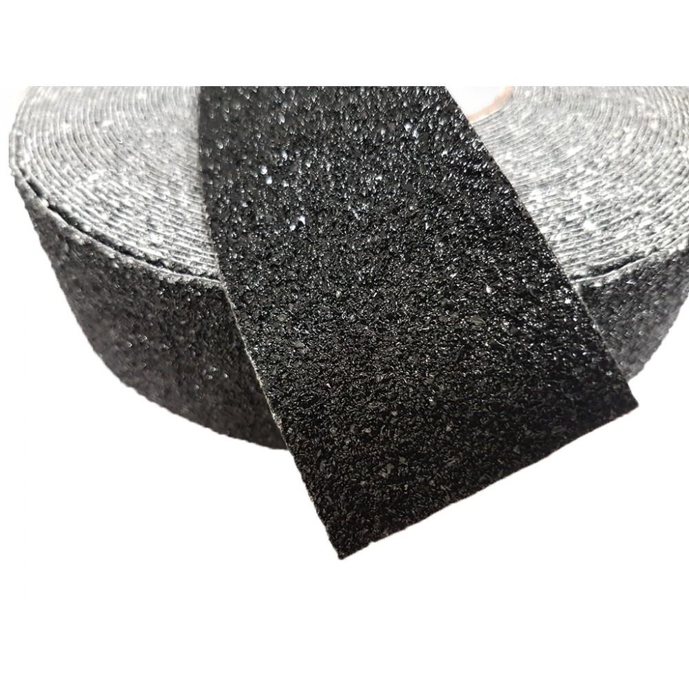 Самоклеящаяся противоскользящая лента Anti Slip Tape Coarse Grain грубой зернистости (36 grit). Цвет: черный