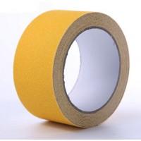 Самоклеящаяся противоскользящая лента Anti Slip Tape крупной зернистости (60 grit). Цвет: Желтый