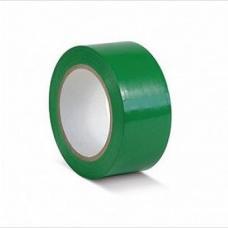 ПВХ лента для разметки и маркировки, зеленый цвет, 50мм х 22м, 150 мкр