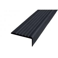 Антискользящая накладка для ступеней без клеевого слоя Г-образная 44мм/19мм Н=4,2мм
